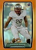 2013 Bowman Rainbow Orange #118 Khaseem Greene /299 Bears