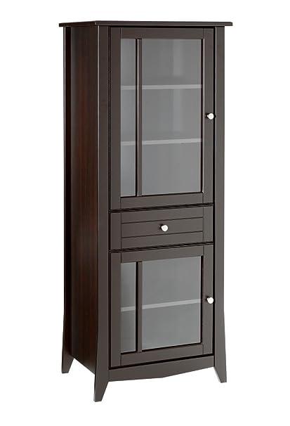 Attrayant Nexera Elegance Curio Cabinet 200317 From, Espresso