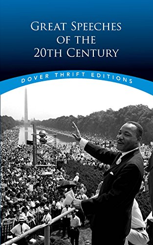 Century Limited Edition - Great Speeches of the 20th Century (Dover Thrift Editions)