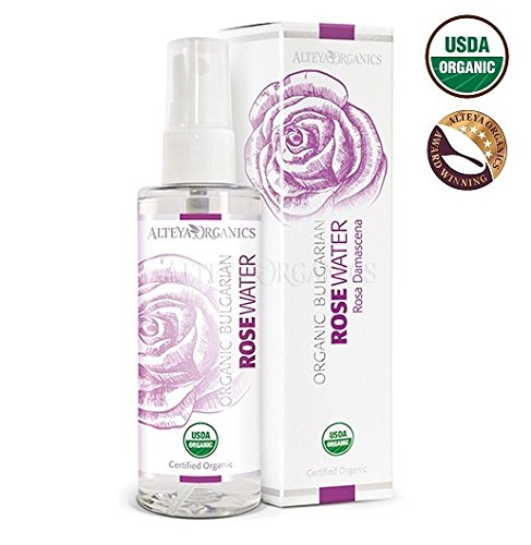 ALTEYA ORGANICS Pink Rose Water Spray, 3.4 FZ