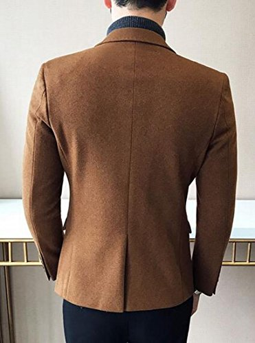 Blend Blazer Notched Sleeve Khaki today Mens Jacket Long Wool Fashion UK Collar tw1qz8w