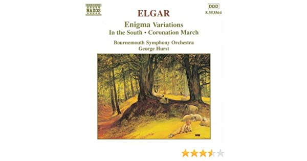 Elgar: Enigma Variations / In the South / Coronation March by Bournemouth Symphony Orchestra on Amazon Music - Amazon.com