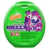 "Gain flings! plus Aroma Boost Laundry Detergent Pacs, Moonlight Breeze, 72 Count ""packaging may vary"""
