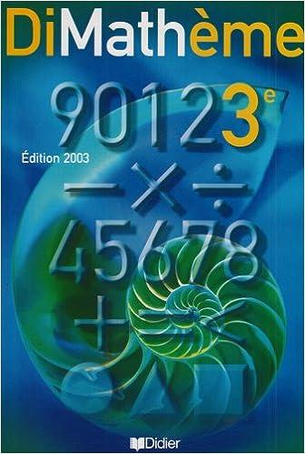 Téléchargement de livres électroniques gratuits pour ipad Dimathème : 3ème, livre de l'élève ePub 2278053493