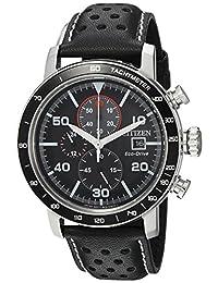 Citizen Men's CA0649-14E Eco-Drive Analog Display Japanese Quartz Black Watch