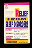 Relief from Sleep Disorder, Barbara Becker, 0440214084