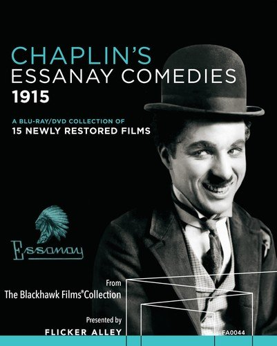 Blu-ray : Chaplin's Essanay Comedies 1915 (With DVD, 5 Disc)