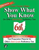 Show What You Know on Ohio's Sixth Grade Proficiency Test, Jolie S. Brams and Patricia Nay, 1884183042