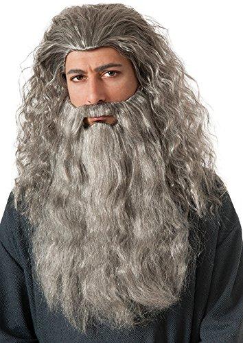 (Rubie's Gandalf Wig and Beard Kit Costume Accessory)