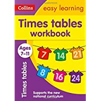 Times Tables Workbook Ages 7-11: New Edition (Collins Easy Learning KS2)