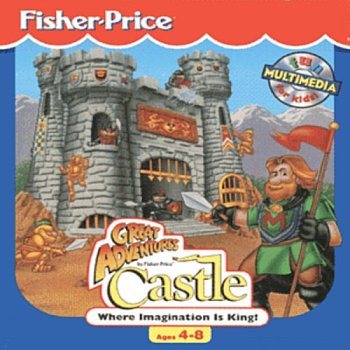 Fisher Price Great Adventures Castle Ages 3-5 Where Imagination Is King!