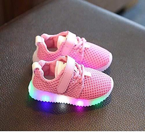 Amazon.com: FidgetKute Zapatos de Bebe Niña Niño Zapatillas de Malla ...