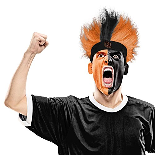 Beaver Fuzzy (NCAA Oregon State Beavers Fuzzy Head Wig, 10.5-Inch x 6-Inch, Orange)