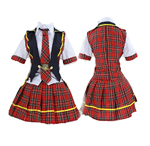 WT AKB48 style Costume Japan import Lolita School Maid