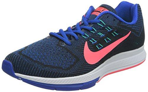 Nike Men's Air Zoom Structure 18 Hypr Cblt/Hypr Pnch/Blk/Hupr J Running Shoe 10.5 Men US