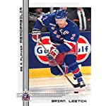 2000-01 Be A Player Memorablia Hockey  89 Brian Leetch New York Rangers  Official. dd49d21de