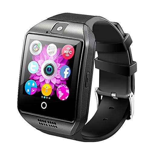 Bluetooth Smart Watch With Camera ,Unlocked Bluetooth Watch Cell Phone with Sim Card Slot,Smart Wrist Watch,Smartwatch Phone for Android Samsung IOS Iphone 7 Plus 6S Men Women Kids Boys TIRIO