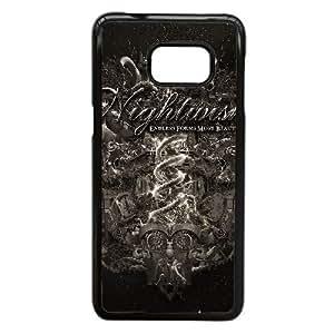 Nightwish 03 a la Mejor funda Samsung Galaxy S6 Edge Plus caja del teléfono celular Funda cubre negro