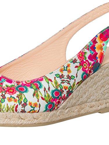 DESIGUAL® Femme Designer Peeptoe Chaussures - LILI - Nouvelle Collection -