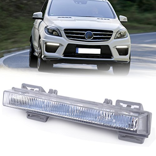 Mercedes Ml63 Amg (beler LED Daytime Running Lights, Replacement Driving Lamps for Mercedes Benz W166 ML350 ML500 ML63 AMG X204 GLK250 GLK350 (Front Left))