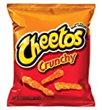 Cheetos Flavored Snacks, Crunchy Cheese, 1.13 Ounce (Pack of 12) For Sale