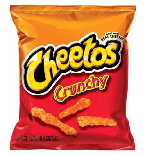 CHEETOS Flavored Snacks, Crunchy Cheese, 1.13 Ounce (Pack...