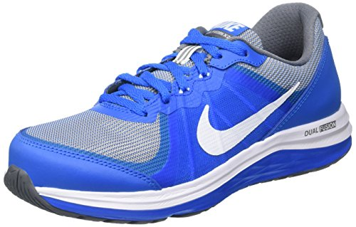 Nike Jungen Dual Fusion X 2 Laufschuhe, Blau (Photo Blue/White-Cool Grey), 38.5 EU