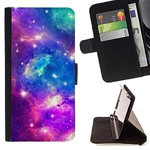 - Point Blank Machete Face - - Prima caja de la PU billetera de cuero con ranuras para tarjetas, efectivo desmontable correa para l Funny HouseFOR HTC One M8