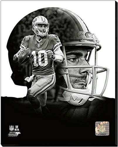 c3bbb09d6 Amazon.com  Jimmy Garoppolo San Francisco 49ers PROfile Stretched ...