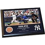 Steiner Sports MLB New York Yankees Derek Jeter Moments: 1st Grand Slam 8x10 Dirt Plaque