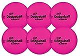RuffSKIN Neon Pink 6'' Foam Dodgeball