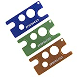 Mako 3-Pack Multi-color Metal Essential Oil Key Tool (Blueberry Blue,Lime Green,Wild Orange), An Universal Opener and Remover for Roller Balls and Caps on Most Bottles (Blue Set)