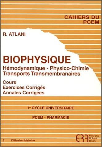 livre atlani biophysique
