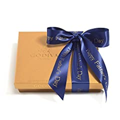 Godiva premium chocolate gift box is meant to be shared; 19 milk chocolate, dark chocolate and white chocolates with fillings such as silky ganache frosting, creamy pralines, rich caramels, fruits, and nuts. These chocolate balls are great fo...