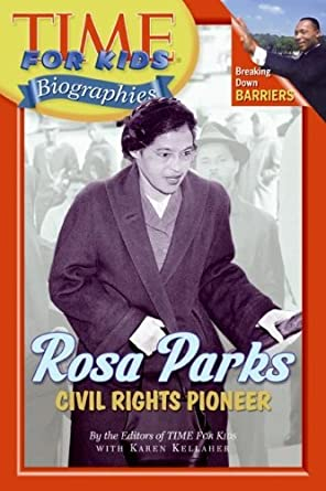 Amazon.com: By Time for Kids (EDT) Rosa Parks: Civil Right Pioneer ...