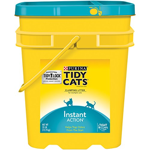 Purina Tidy Cats Instant Action Clumping Cat Litter - 35 lb. Pail