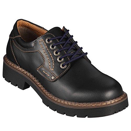 Di Ficchiano© Qualité-Lacets, ronds,Lacets pour chaussures en cuir, chaussures de sport, durable, ø 3 mm, 21 couleurs, longueurs 60 - 130 cm bleu foncé