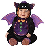 InCharacter Costumes Baby Bat Costume, Black/Purple, Medium