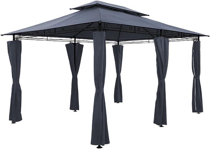 Toldo tipo gazebo de 4 x 3 m para fiestas en el jardín, al aire ...