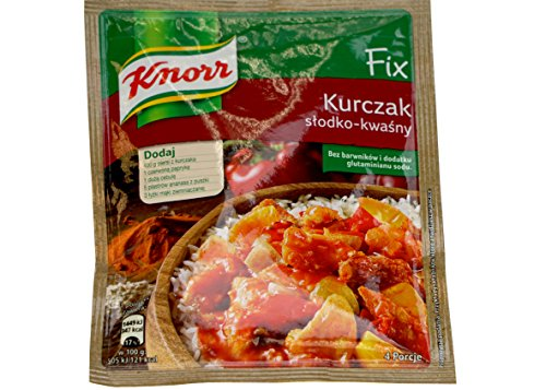 Knorr Sweet & Sour Chicken Seasoning, PACK OF TEN, 2.25 oz (64g) per packet (10) ()