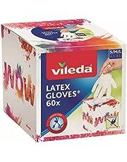 Vileda Multi Latex Cubic wegwerphandschoenen, 60 stuks