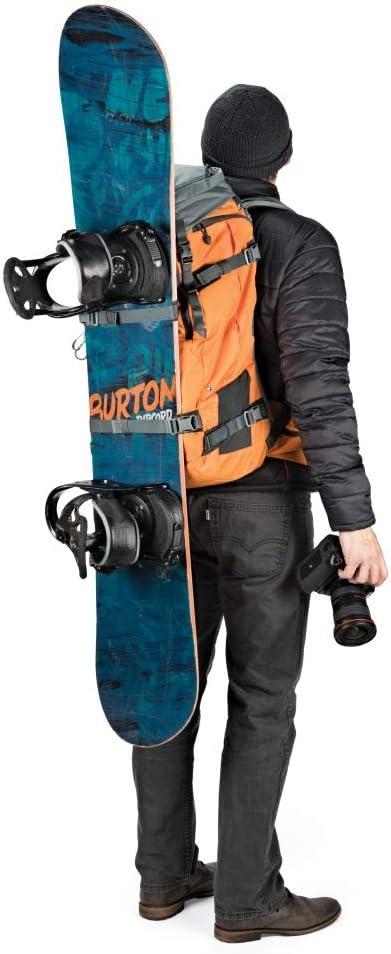 Lowepro LP37231-PWW Powder BP 500 AW Outdoor Rucksack f/ür Wintersport- und Trekking-Equipment f/ür Foto//Video Equipment und pers/önliche Gegenst/ände, geeignet f/ür DSLR// Spiegellose /& Zubeh/ör blau