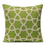 Pillow case, Ammazona Home Decor Square Linen Printed Waist Throw Pillow Case Sofa Car Cushion Cover (H)