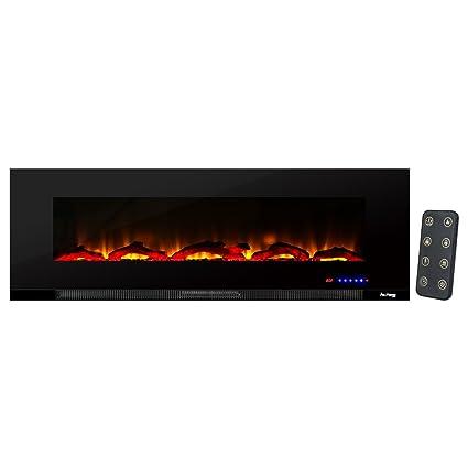 Amazon Com E Flame Usa Livingston Wall Mount Electric Fireplace 60