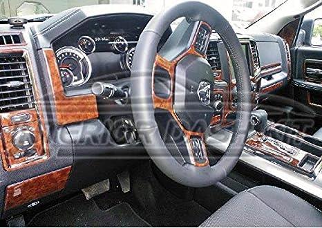 Dodge Ram 1500 2500 3500 interior madera Dash trim Kit Set ...