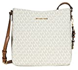 Michael Kors Jet Set Travel Large Logo Messenger, Vanilla