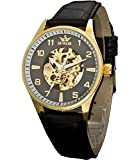 Sewor Lover's Automatic Mechanical Leather Wrist Watch For Women C1114