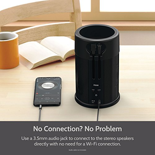 Wireless Battery Speaker for Amazon Echo Dot 2nd Generation by i-box (Image #3)