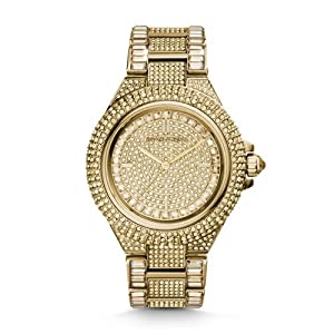 Michael Kors Camille Swarovski Crystal Encrusted Gold Ion-plated Ladies Watch MK5720