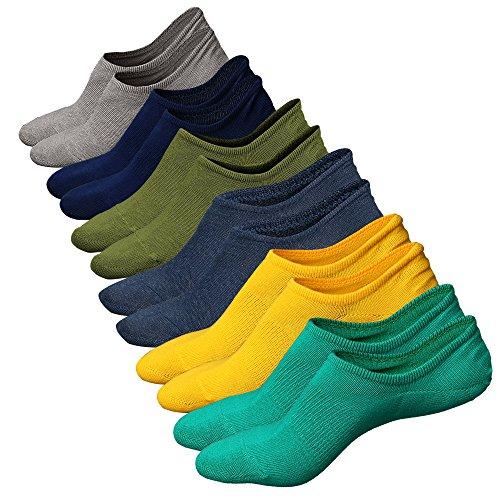 Taglio Colore 26 Invisibili ElasticizzatoCorti BassoAntiscivolo Traspirante Con In Calzini UomoSneaker Calze Ueither Paia Fantasmini Da Cotone Sportive nN8vOm0w